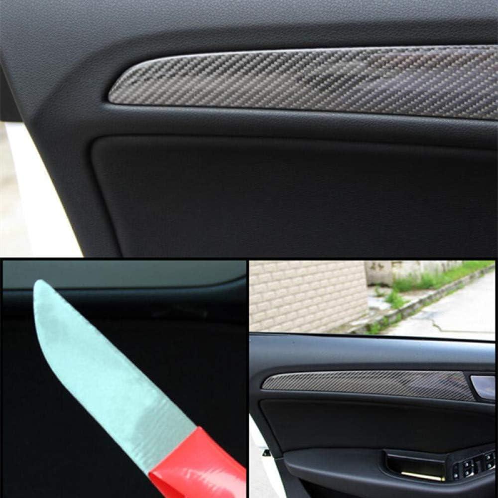 2010-2018 SQ5 Auto Zubeh/ör Auto Styling Interieur Kohlefaser Wasser Becherhalter Panel Trim Aufkleber Aufkleber,f/ür Audi Q5 2013-2017