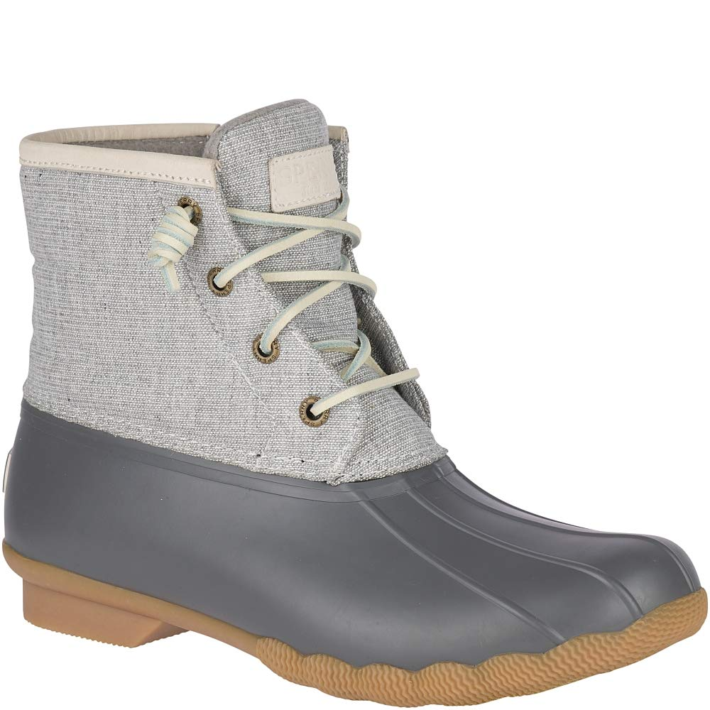 SPERRY Women's Saltwater Metallic Rain Boot Grey 8 M US by SPERRY