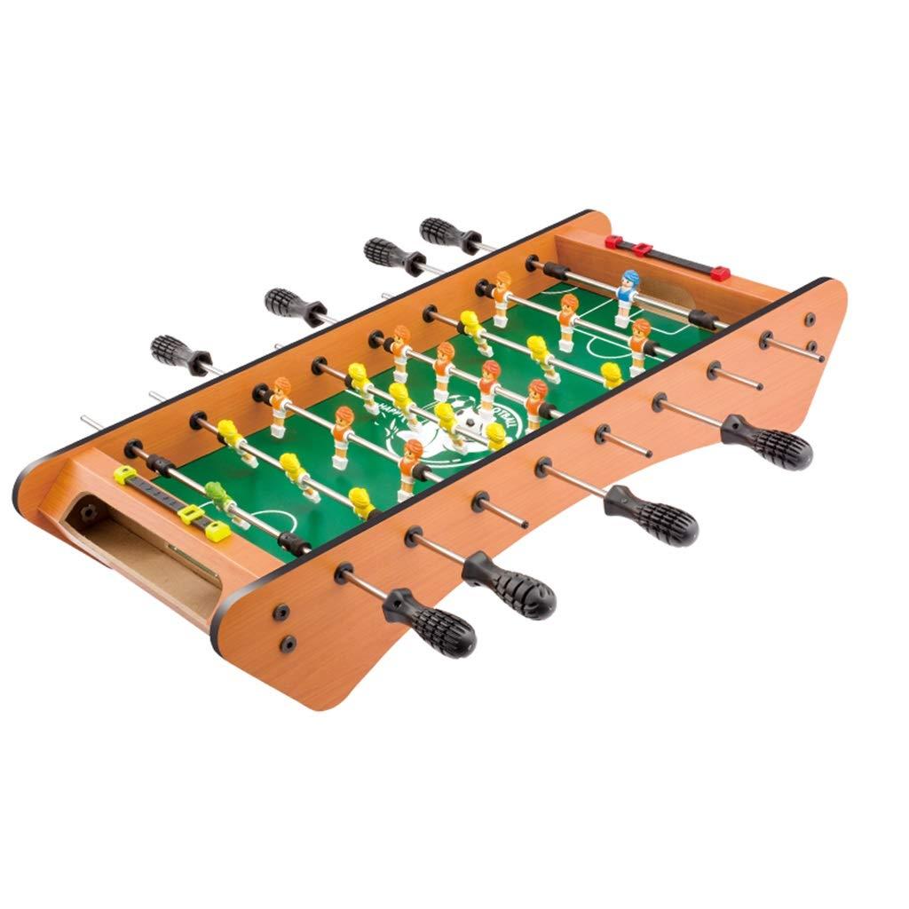 サッカー 子供のおもちゃ子供用テーブルサッカー子供用教育玩具310歳の子供用おもちゃギフト8人掛けテーブルサッカー機ギフト家族向けゲーム機木材 球技スポーツ (Color : Wood, Size : 61*28*11.5cm) B07NWBKLGZ Wood 61*28*11.5cm