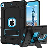 iPad 6th Generation Cases, iPad Case, iPad 9.7 Inch Case, Hybrid Shockproof Rugged Drop Protection Cover Built with Kickstand for iPad 9.7 inch A1893 / A1954 / A1822 / A1823 (Sky Blue)