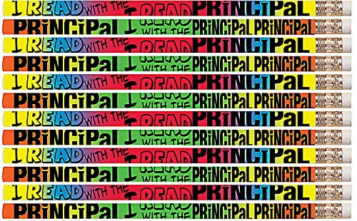 Principals Award Pencils - D2324 I Read With The Principal - 36 Qty Package - Reading Pencils - Express Pencils