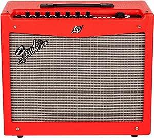 fender mustang iii v 2 guitar amplifier red musical instruments. Black Bedroom Furniture Sets. Home Design Ideas