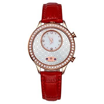 LKTGBRCVZJU Relojes Marea Las señoras de Gama Alta Reloj de la Moda de la Correa del