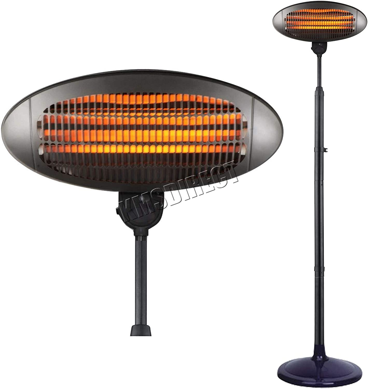 Quartz 2KW Electric Patio Heater