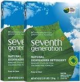 Seventh Generation Auto Dish Powder - 45 oz - 2 pk