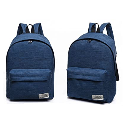 4a05910c3f0 Tulas Fashion Korean Women Backpack Canvas Solid Color Computer Bag Ladies  Girls Big Capacity School Bags