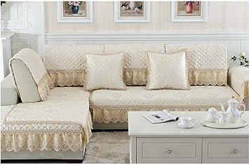 Cuatro estaciones Europea cojín del sofá de lujo tela de ...