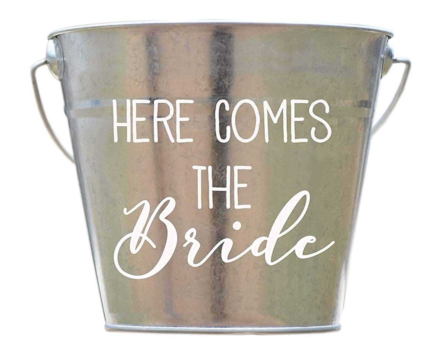 Personalized Galvanized Rustic Country bucket