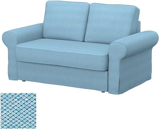 Soferia - IKEA BACKABRO Funda para sofá Cama de 2 plazas, Nordic ...