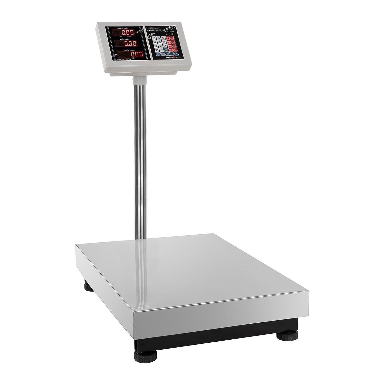 Steinberg Systems -SBS-PF-300/50 - Balance plate-forme - 300 kg / 50 g - fonction prix - Frais d'envoi inclus