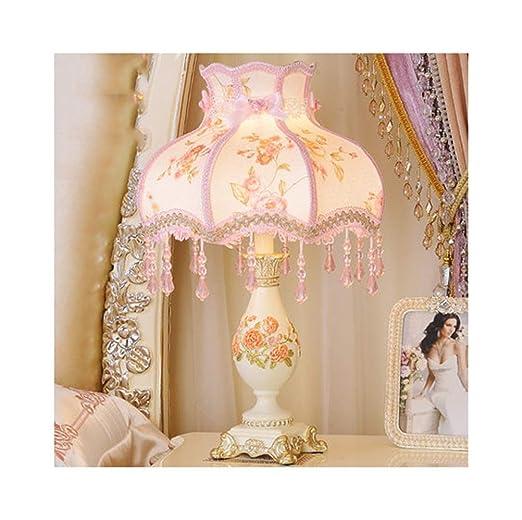 Bonita lámpara de mesa Lámpara de mesa Dormitorio Lámpara de noche ...