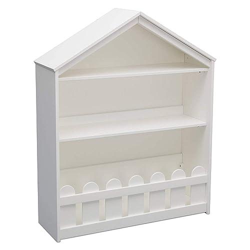 Serta Happy Home Storage Bookcase, Bianca