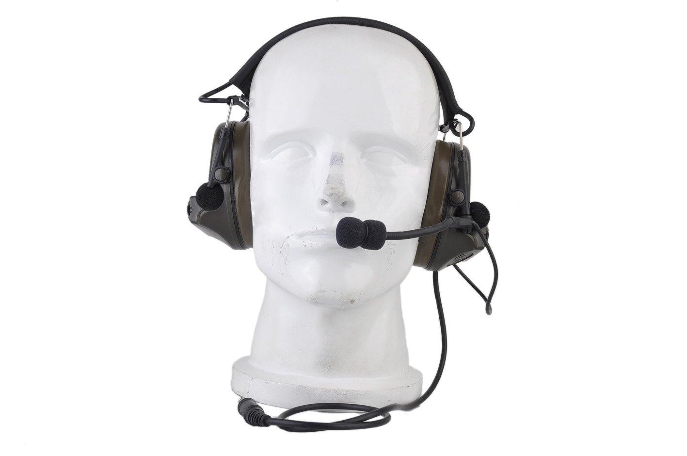 ... auriculares cancelación de ruido auriculares, táctica, anti ruido auriculares, al aire libre auriculares, Walkie Talkie, caza: Amazon.es: Electrónica