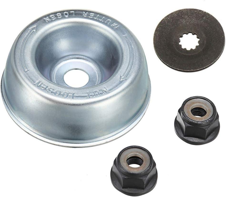Ruiboury 4pcs / Set lámina STIHL, para desbrozadora del Metal de fijación Kit de reemplazo de STIHL Strimmer Desbrozadora