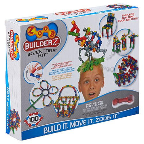 ZOOB BuilderZ Inventor's Kit