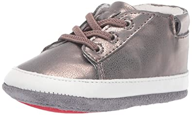 2dc49d184c10e Robeez Girls  Low Top Sneaker-Mini Shoez Crib Shoe Bronze 6-9 Months