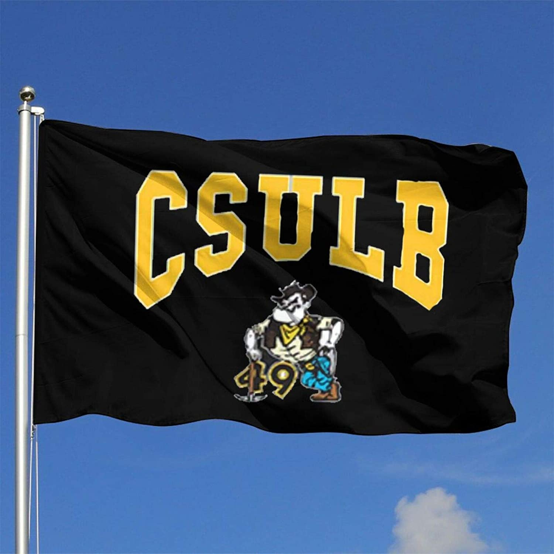 Sherrygeoffrey Csulb California State University Flag Garden Outdoor Banner 4x6 Ft