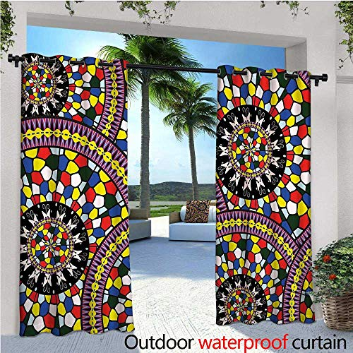 Mosaic Outdoor Lighted Ornaments in US - 4