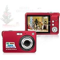HD Mini Digital Cameras for Kids Teens Beginners,Point and Shoot Digital Video Cameras-Birthday&Christmas Gift