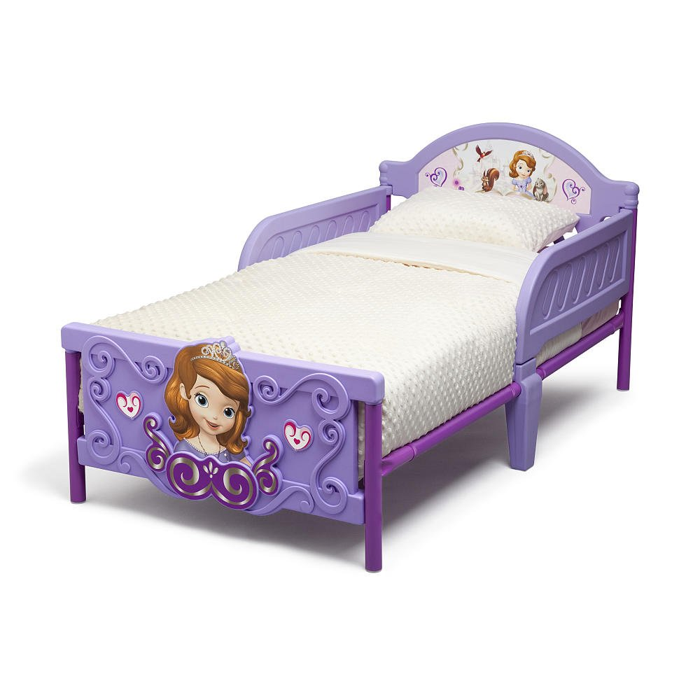 Amazon.com : Disney Sofia The First 3D Toddler Bed : Childrens Furniture :  Baby