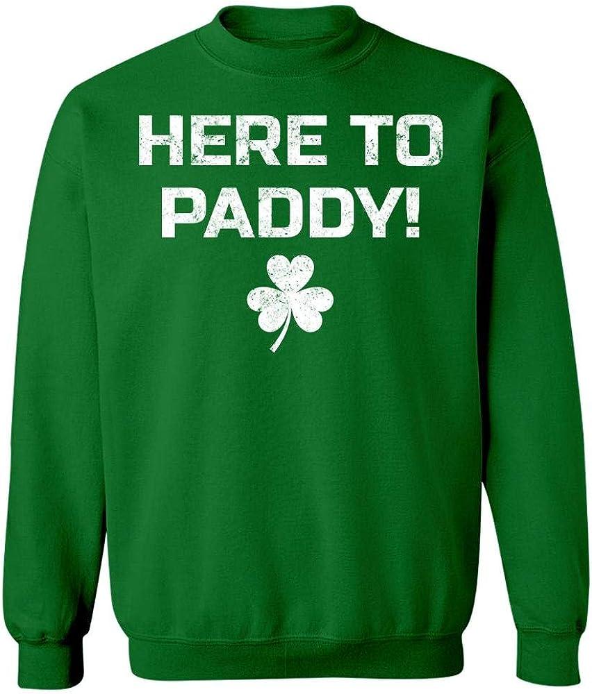 Sweatshirt Esprexx St Patricks Day Here to Paddy Irish Shamrock