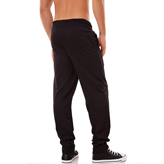 525eb4e5a32d Uomo: abbigliamento Abbigliamento e accessori Pantaloni UOMO fitness  sportivi palestra tuta felpati sport misto cotone K7033