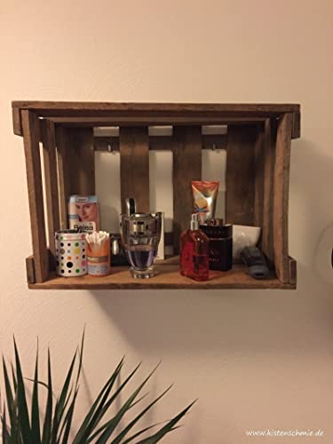 Weinkisten Wandregal shelf space i wandregal aus alten weinkisten amazon de handmade