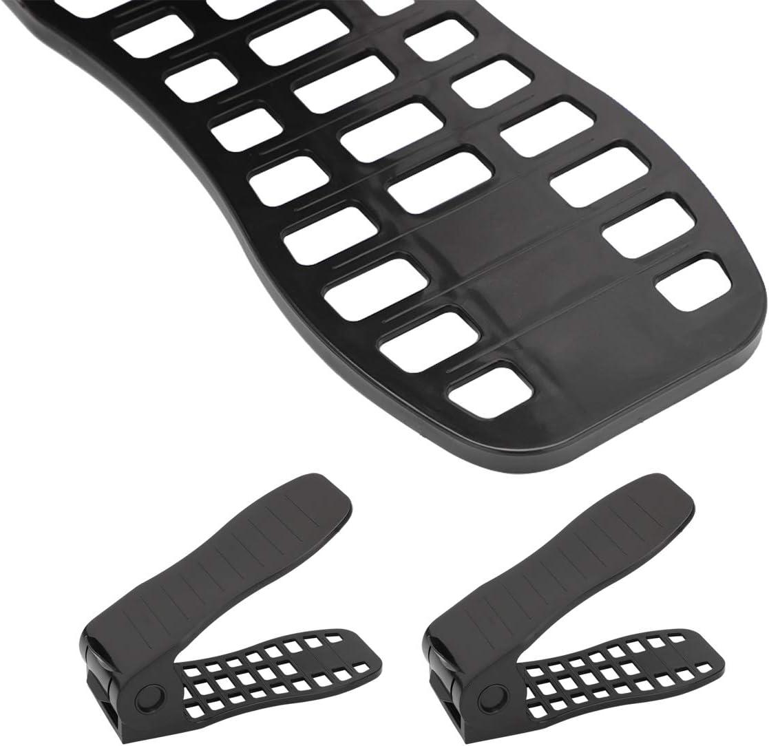 MorNon 10 St/ück Einstellbare Schuhregale Verstellbarer Schuhstapler Schuhhalter Schuh Slots Kunststoff Schuhorganizer Lager