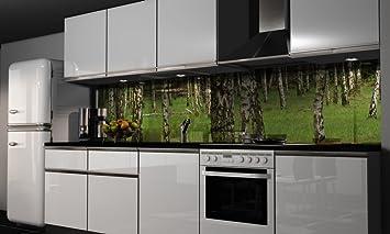 Küchenrückwand-Folie Natur Klebefolie Spritzschutz Küche ...