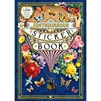 Deals on The Antiquarian Sticker Book: Victorian Stickers Hardcover