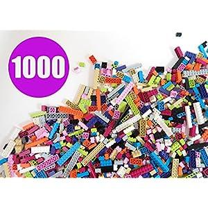 Building Bricks - Pastel Colors - 1,000 Pieces - Compatible with all Major Brands - 61NT 27uBHL - Building Bricks – Pastel Colors – 1,000 Pieces Classic Bricks – Compatible with All Major Brands