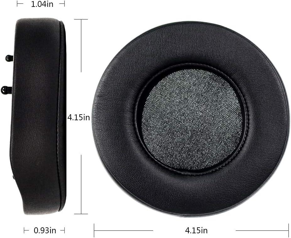 Kopfband-Abdeckung//Kissen//Cups//Ohrpolster Ersatz-Ohrpolster kompatibel mit Razer ManOWar Wired//Wireless 7.1 Surround Sound Gaming Headset Kopfh/örer Only Ear Cushions