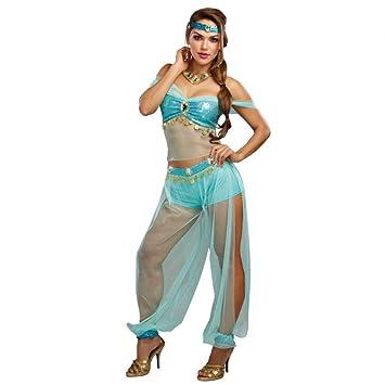 Dreamgirl Kostum Harems Prinzessin Gr S Top Haremshose Turkis