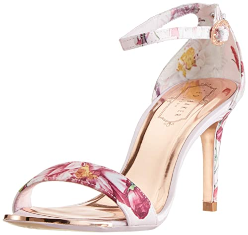 Ted Baker Women s Mylli Ankle Strap Heels  Amazon.co.uk  Shoes   Bags