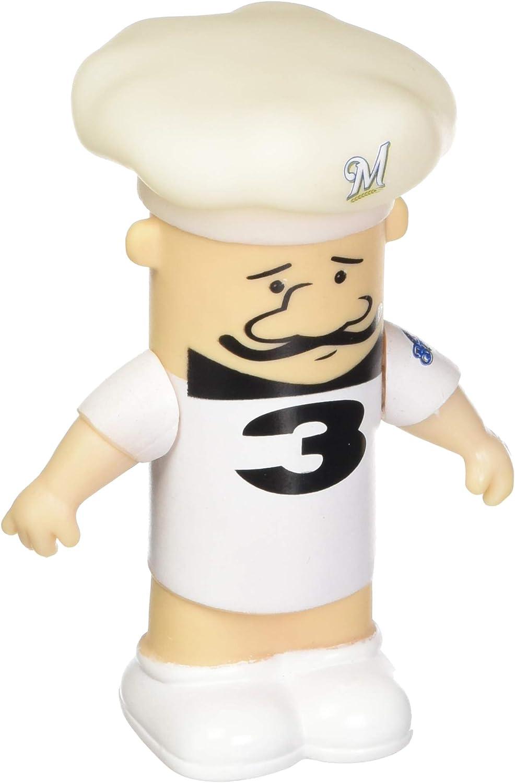 FOCO MLB Milwaukee Brewers Sausage #3 Italian Sausage Vinyl Racing
