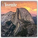 Yosemite 2018 12 x 12 Inch Monthly Square Wall Calendar, USA United States of America National Park West Scenic Nature (Multilingual Edition)