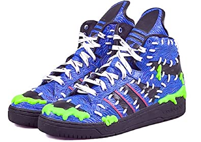 308540373e75 Image Unavailable. Image not available for. Color  adidas Originals Jeremy  Scott MAd Logo ...