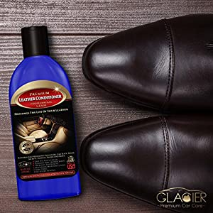 Leather Conditioner with Unique Antibacterial Cleaner Will Restore & Repair Protector Top Layer 8 Ounce