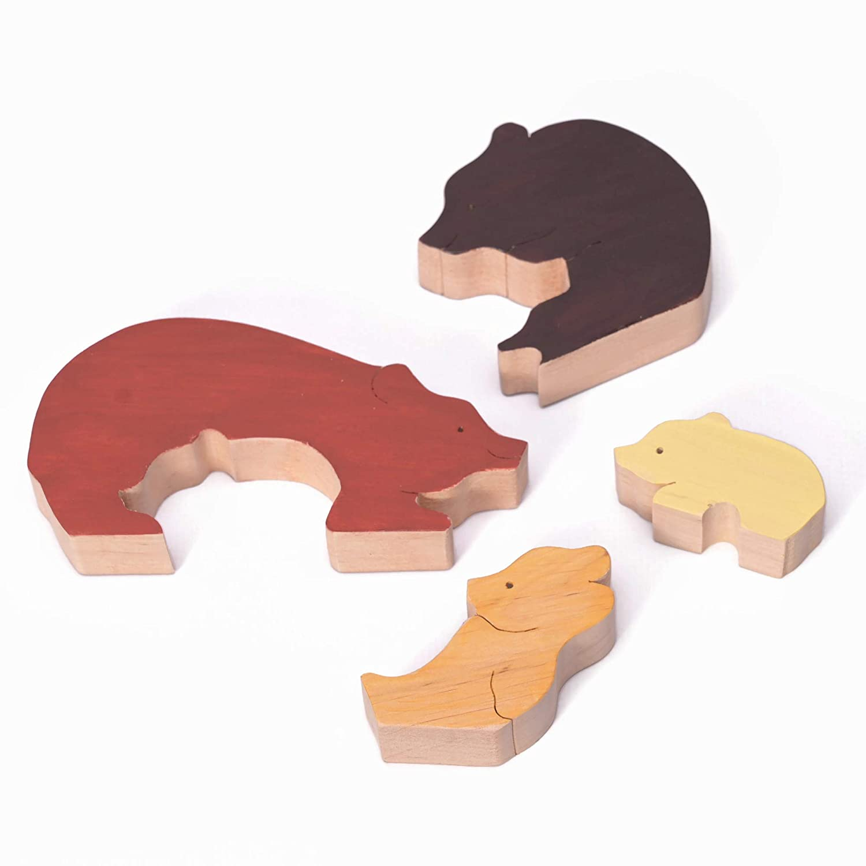 Woodlands Nursery Decor Woodland Animals Puzzle Kids Room decor Handmade Wood Puzzle Educational Toy Woodland Themed Decor