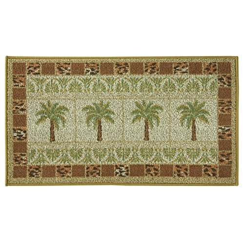 Classic Berber Accent Rug, Stain Resistant Rug, Skid Resistant, Oasis Grid, 40