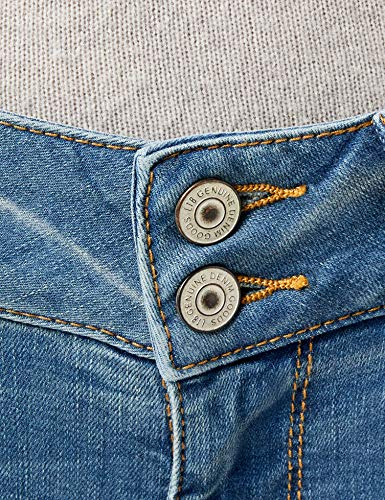 Coupe Molly Ajustée Jeans Femme calissa Jean Ltb Blau 4408 Wash qTtawxx5