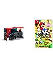 Nintendo Switch Grey with New Super Mario Bros. U Deluxe