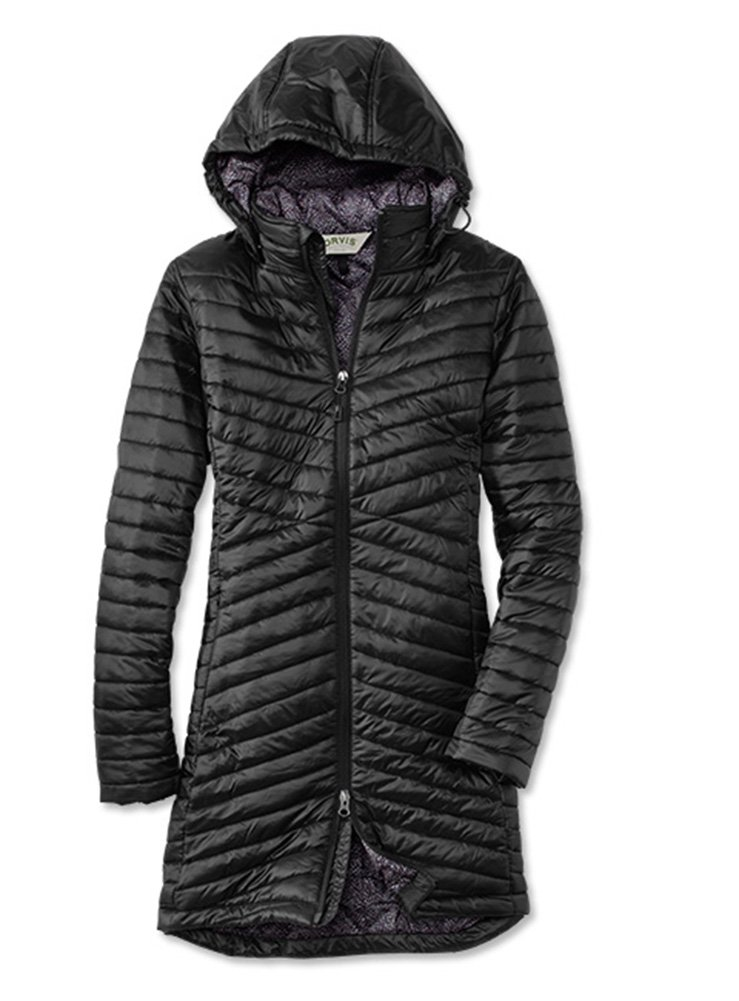 Orvis Women's Nimbus Travel Parka, Black, Small by Orvis