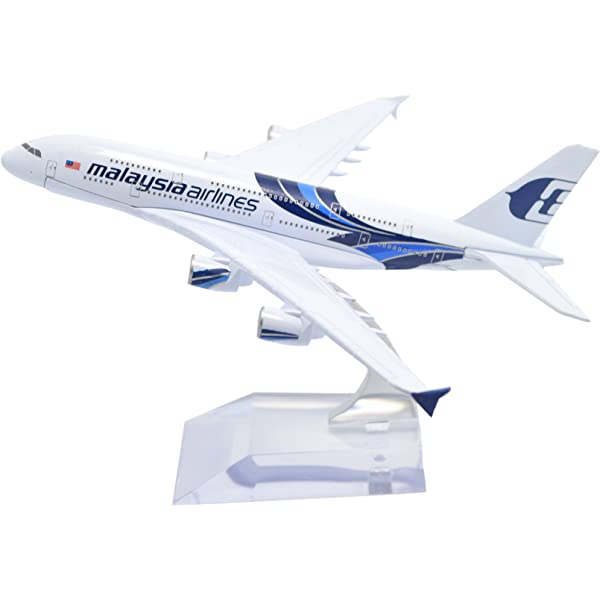 Metal Airplane Malaysia Airlines Aircraft Model Diecast Metal Model Airplanes Airbus A380 16cm 1:400 Metal Aeroplane Plane Airplane Model Toy