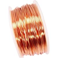 ART IFACT Bare Copper Wire without Enameled 20 Gauge (0.914 mm Diameter)