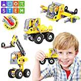 Toys : Betheaces Stem Learning Kids Toys Assembling Educational Building Blocks Set 3-in-1 Construction Engineering Transform Truck Airplane Crane Toy DIY Take Apart Puzzles for Boys and Girls Gift