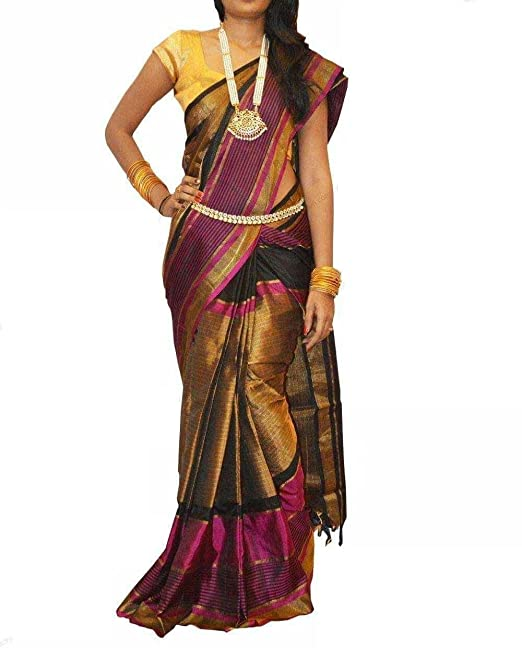 06aa9d246 Image Unavailable. Image not available for. Colour: Uppada Women's Silk  Saree ...