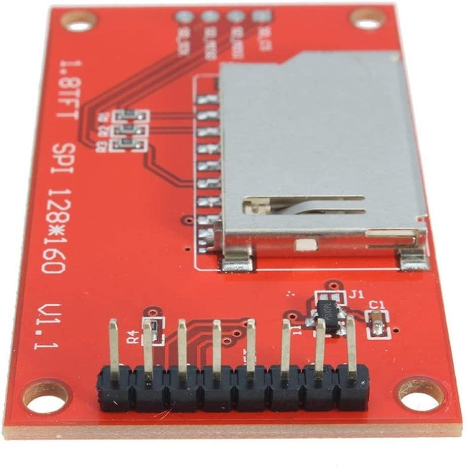 Nrthtri smt 1.8 Inch TFT LCD Display Module SPI Serial Port with 4 IO Driver so on