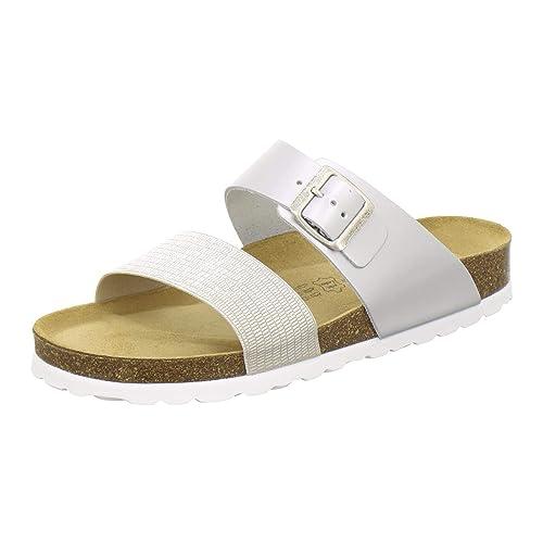 hot sale online 21aa3 09859 AFS-Schuhe 2145, sportliche Damen-Pantoletten, praktische Arbeitsschuhe,  Bequeme Hausschuhe, Made in Germany