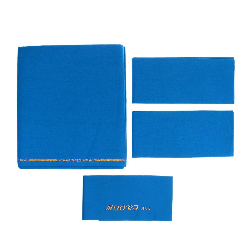 Sharplace Billardtuch für Billardtisch Billardtischabdeckung für 9ft Tisch Billardtisch
